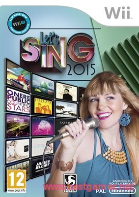 Let's Sing 2015 [Wii] [PAL]