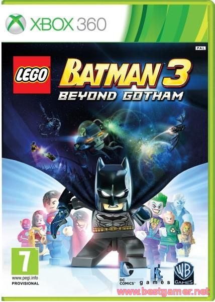 Lego Batman 3: Beyond Gotham [GOD / RUS]