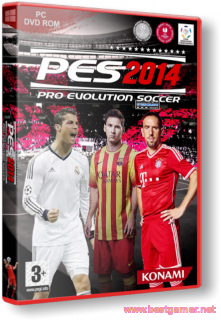 Pro Evolution Soccer 2014 (2013/RUS/ENG) Portable от punsh