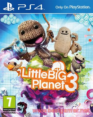 новые релиз: Little Big Planet 3 запускается  на PS4 и PS3