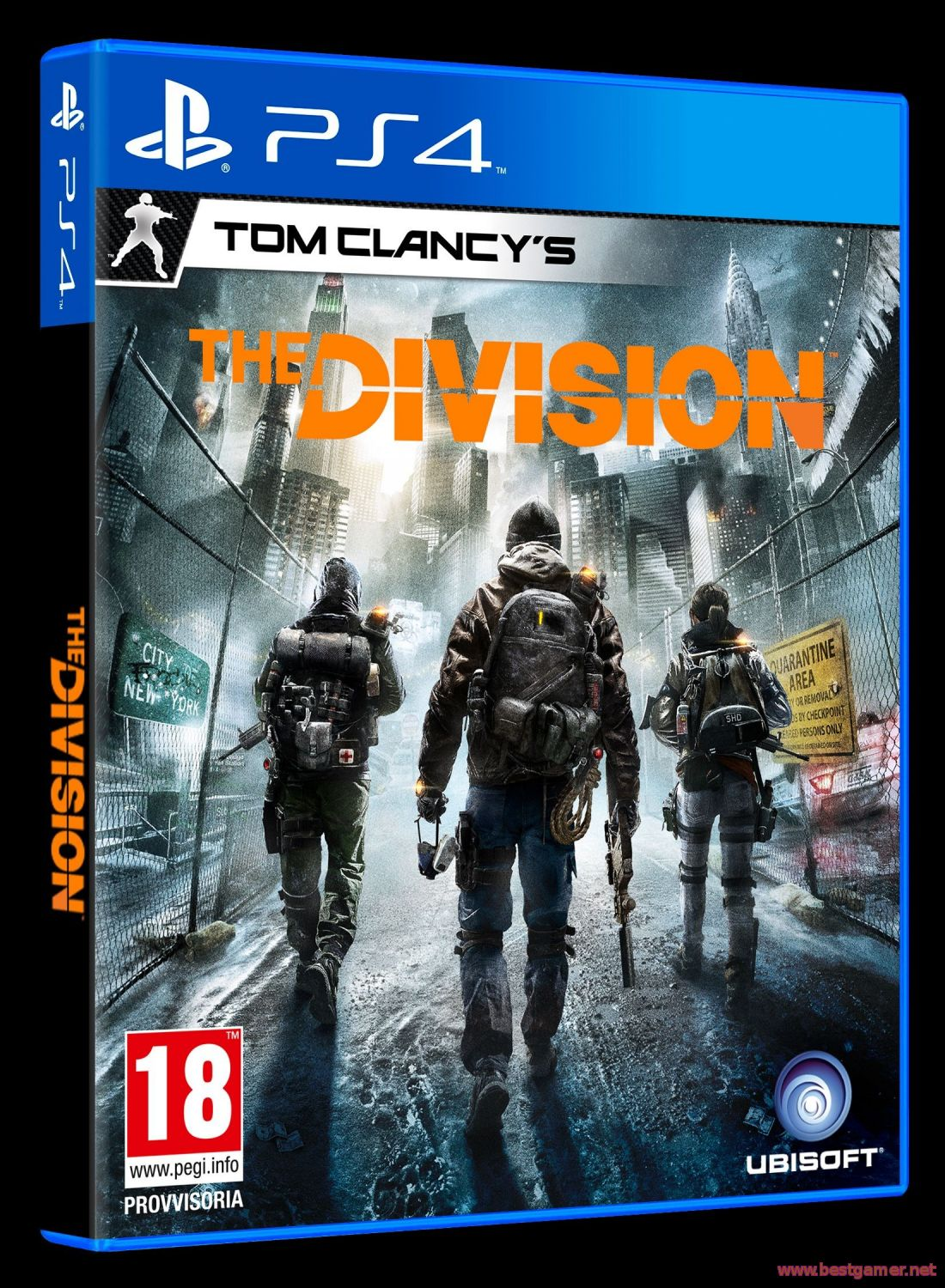Tom Clancy's The Division [2015, MMORPG / шутеры от 3-го лица, HD 720p] [Трейлер]