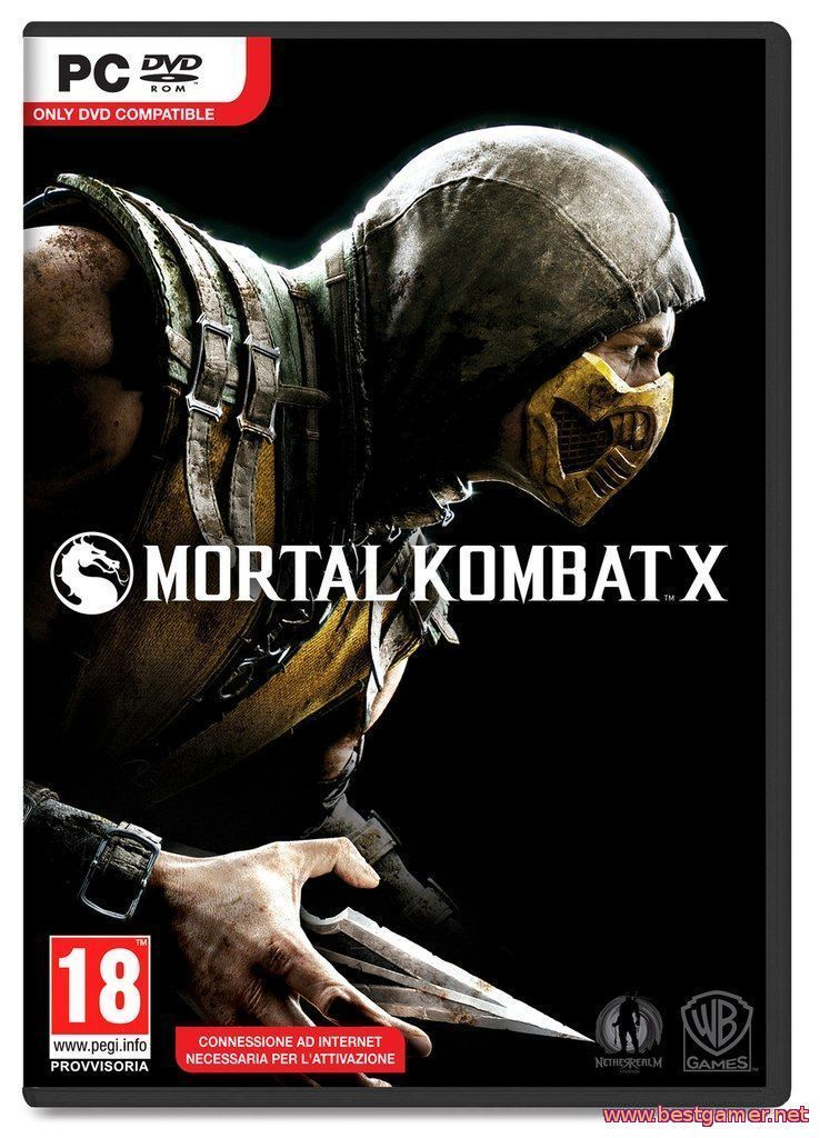 Mortal Kombat X (2015) HD 1080p | Трейлер