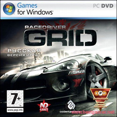 Race Driver: GRID \ 2008 \ RUS \ ENG \ RePack