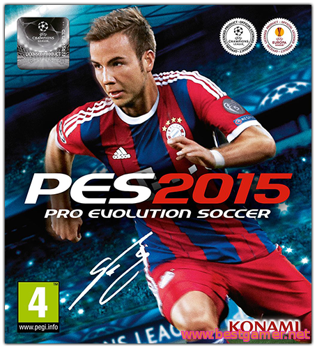 Pro Evolution Soccer 2015 (Update v1.01.01)-RELOADED