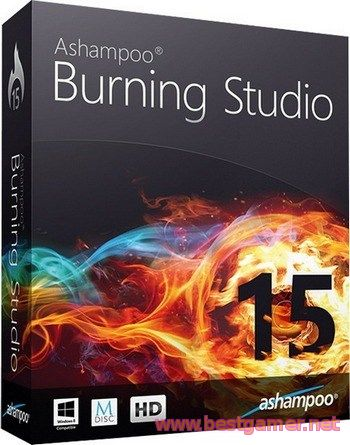 Ashampoo Burning Studio 15 15.0.1.39 Final (2014) РС | RePack & Portable by KpoJIuK
