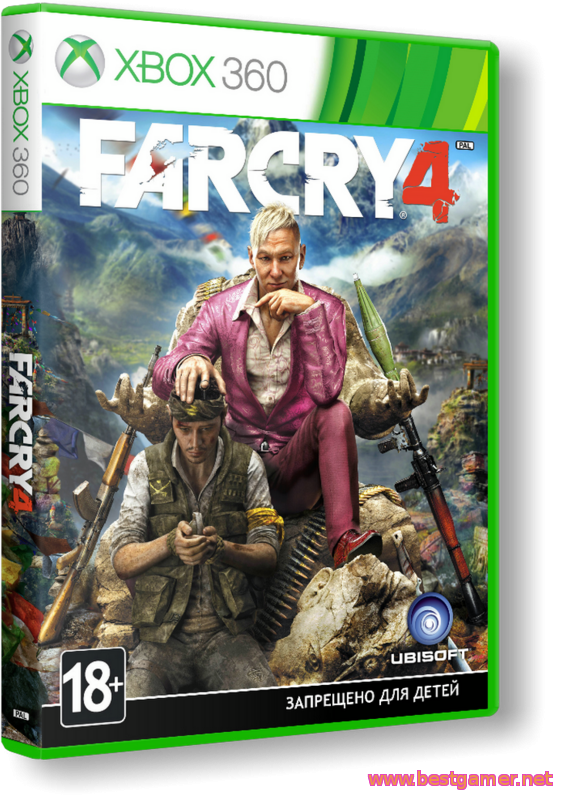 [Xbox360 RGH] Far Cry 4 - Exclusive Content Pack 1-4