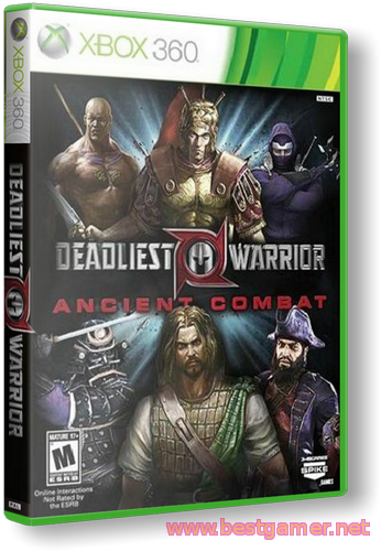 [Xbox360 RGH] Deadliest Warrior [Arcade]
