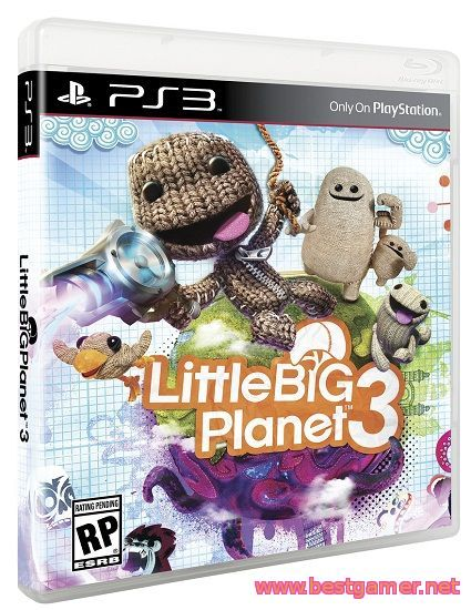 Little Big Planet 3 | RePack + 16 DLC [RU / EN]от BESTiaryofconsolGAMERs