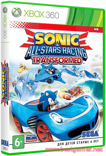 [XBOX360] Sonic & All-Star Racing Transformed [Region Free/ENG]