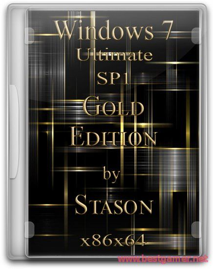 Windows 7 SP1 Ultimate Gold Edition by Stason v.0.5 (x86/x64) (2015) [RUS]