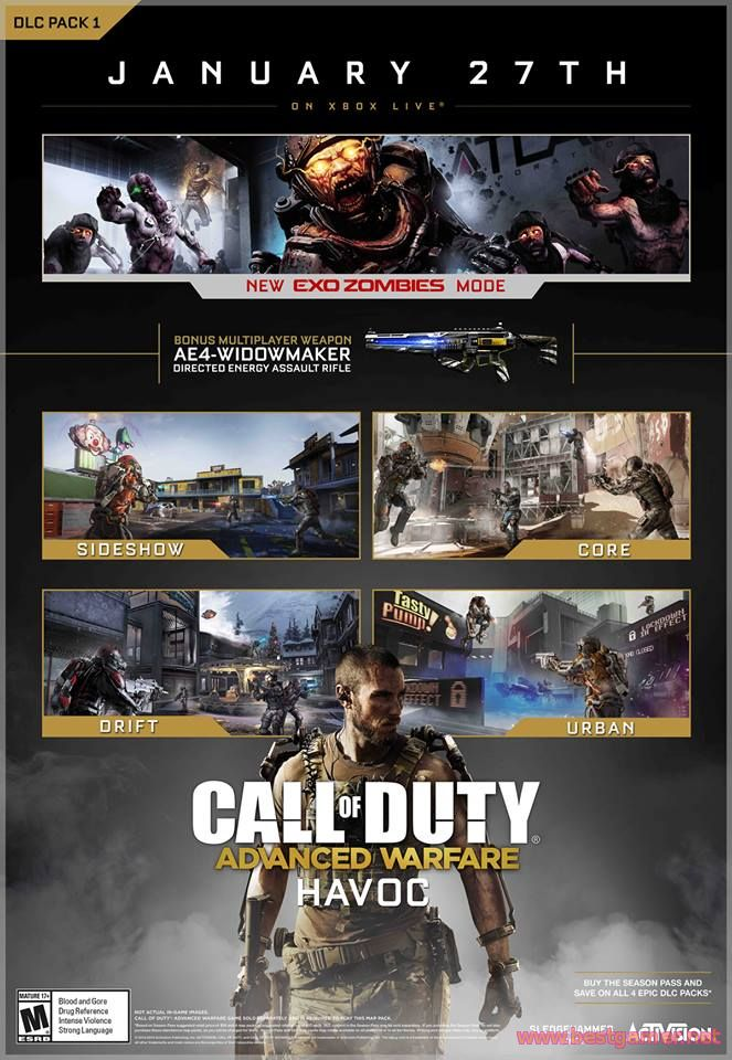 CoD : Advanced Warfare - Havoc DLC