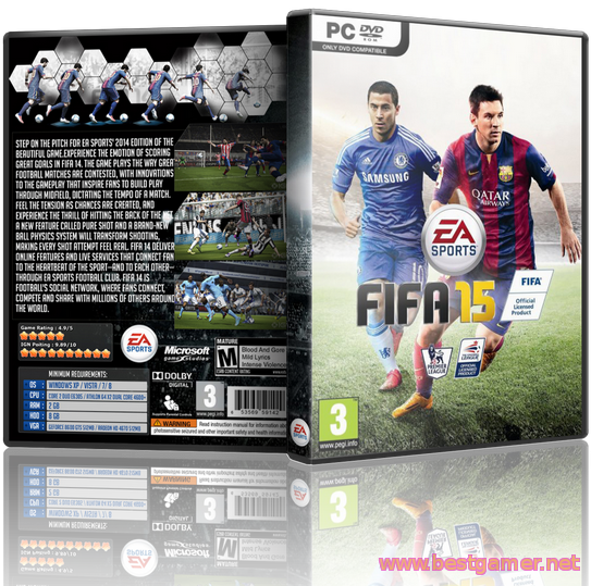 FIFA 15 Crack + Update (2014/RUS/ENG/Update 1-4 + Crack by 3DM)
