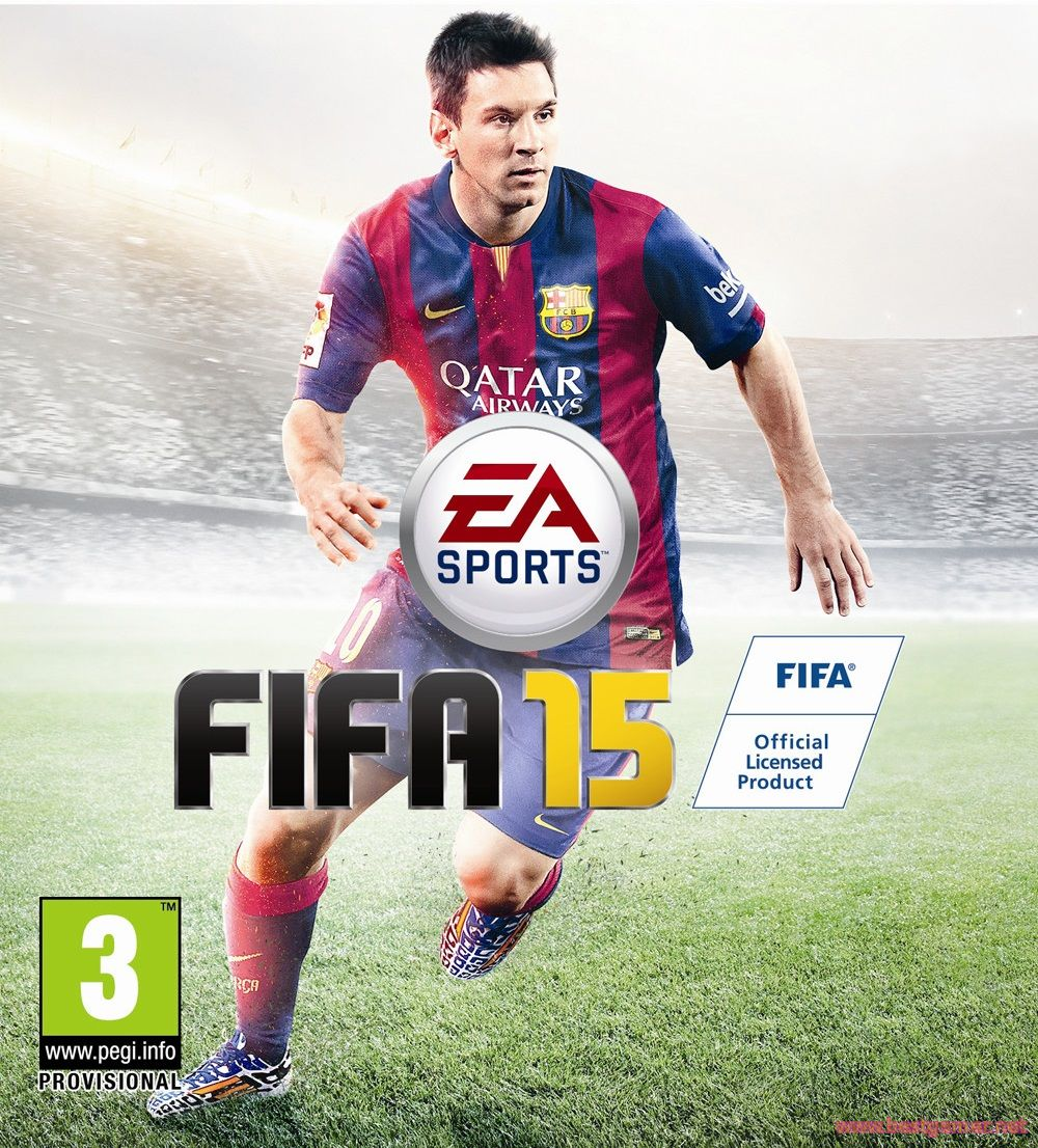 FIFA 15 Crack Only (2015/RUS/ENG/Crack v.2 by 3DM)