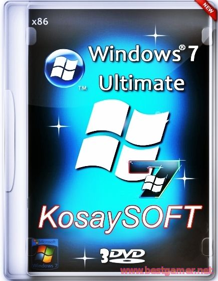 Windows7 SP1 Ultimate x86(14.02.15) (x86/x64) [2015, Rus]
