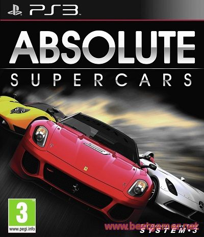 Absolute Supercars (2012) [PS3] [EUR] 4.21 [Cobra ODE / E3 ODE PRO ISO]