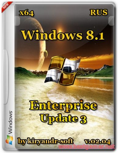 Windows 8.1 Enterprise with update 3(v.02.04)