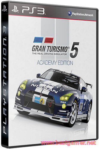 (Ps3)Gran Turismo 5 Academy Edition[RUSSOUND] [3.55] [Cobra ODE ISO]BG