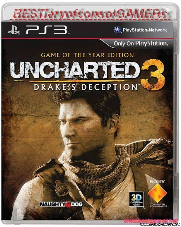 Uncharted 3: Drake's Deception [PAL] [RUS\ENG] [Repack] [9xDVD5 и 1xBD]