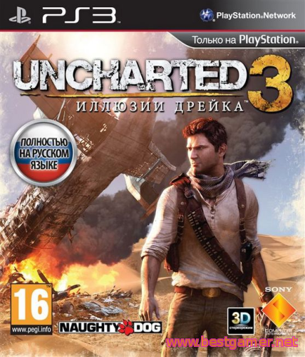Uncharted 3: Drake's Deception [EUR/RUS/ENG] [3.55 Kmeaw]