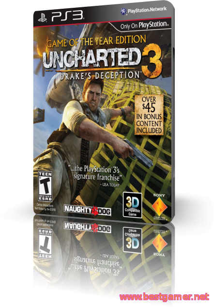 (PS3)Uncharted 3 Gameof the Year Edition