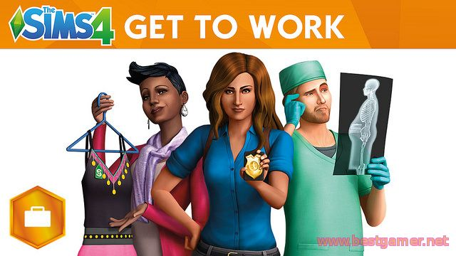 The Sims-4 Get to Work Addon-RELOADED
