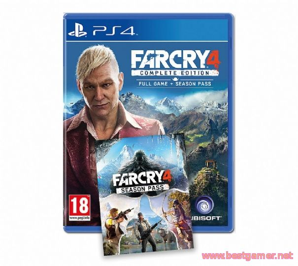 Far Cry 4 Complete Edition - на Amazon