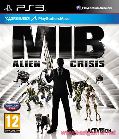 Men in Black: Alien Crisis (2012) [PS3] [EUR]