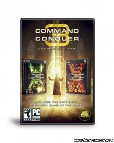 Command & Conquer 3: Дилогия Кейна(Strategy (Real-time)[2007-2008][RUS] [RePack от R.G. Механики]