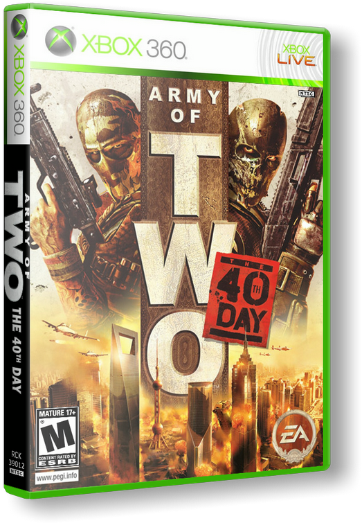 GOD Army of two 40th day +DLC Region FreeENG