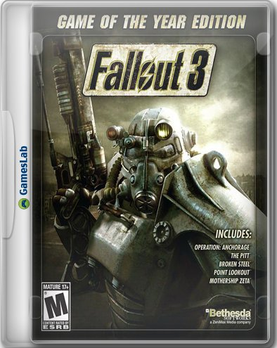 Apple Macintosh Fallout 3 Game Of The Year Edition RUS UnOfficial Cider Port