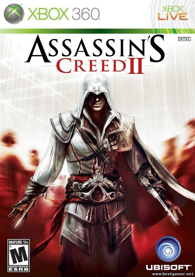 GOD Assassin's Creed II + DLC Dashboard 2.0.13604 Region Free ENG