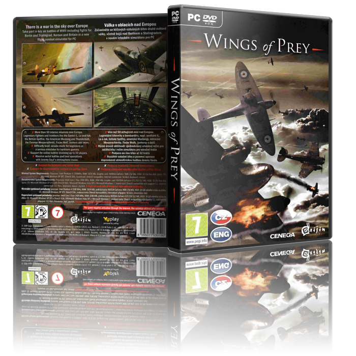 Крылатые хищники / Wings Of Prey.v 1.0.3.2 (Gaijin Entertainment) (RUS) [Repack] от Fenixx