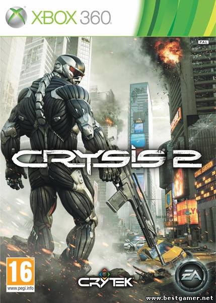 Скачать торрент Crysis 2 [Region Free][ENG] [Dashboard 2.0.13599] [Region Free / ENG]