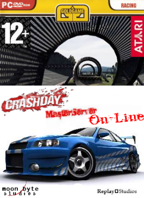 Crashday MS On-Line v.1.0 [Master Server Online] (2006-2011/PC/Rus)