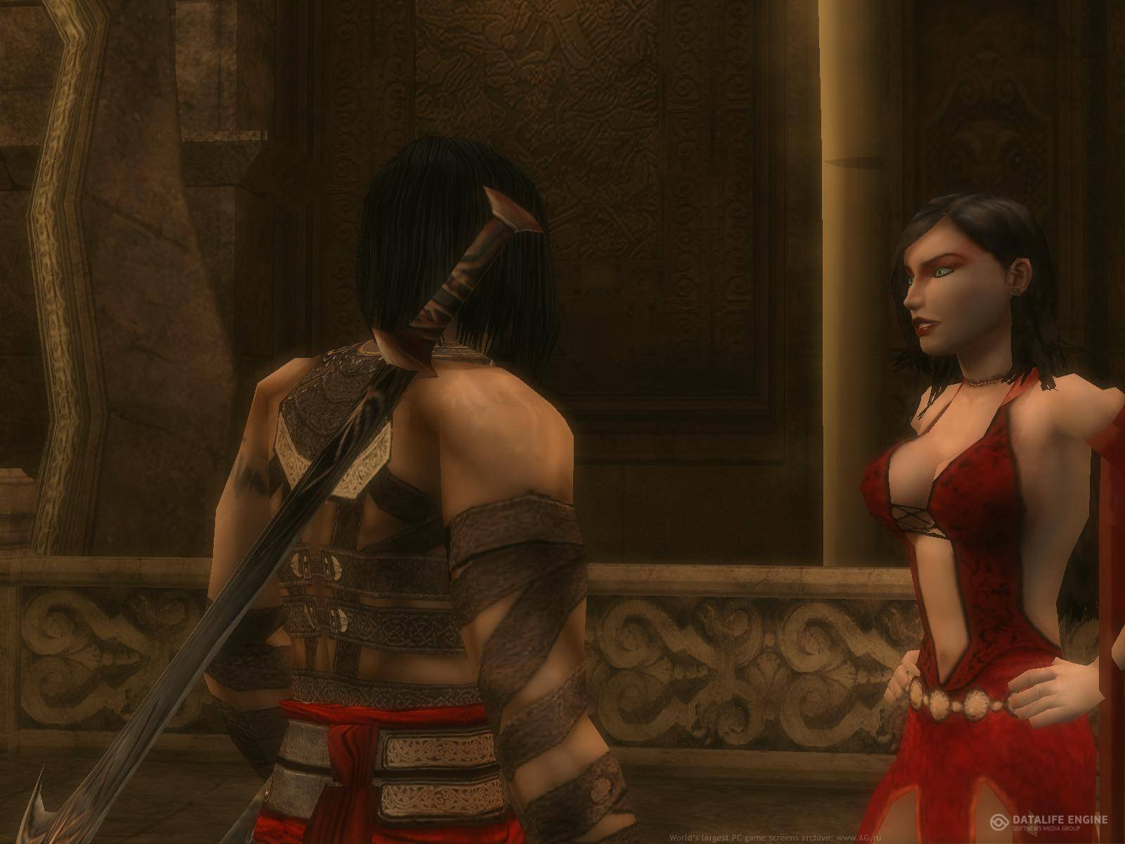 Naked girl of prince of persia game nackt video