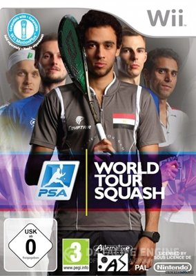 PSA World Tour Squash (2015) [Wii] [PAL] [License]
