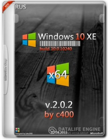 Windows 10 PRO [RUS] [x64] v.2.0.2 by c400
