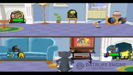 Tom and Jerry in House Trap [PSX] [RUS]