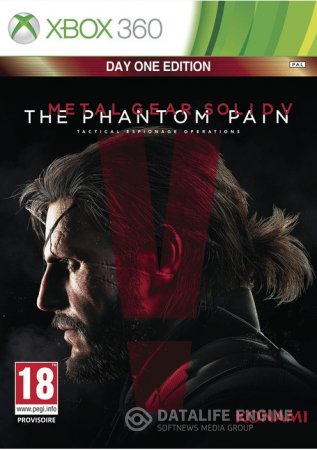 Metal Gear Solid V: The Phantom Pain - DAY ONE EDITION [GOD / RUS] через torrent