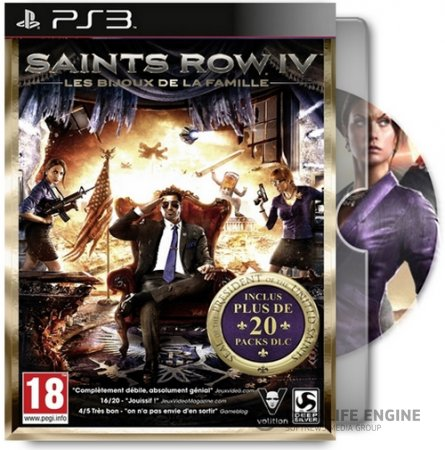 Saints Row IV: Game of the Century Edition / Saints Row IV: Полное издание (2014) [PS3] [EUR] [4.55] [Unofficial] [Cobra ODE / E3 ODE PRO ISO] [Ru/En] |