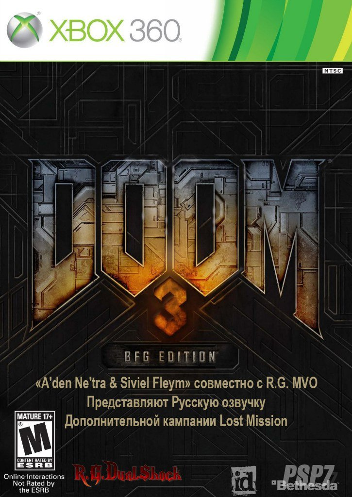 [FULL] Doom 3 BFG Edition [RUSSOUND] (Релиз от R.G.DShock)