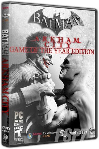 Batman: Arkham City - Game of the Year Edition (2012) PC | Repack by -=Hooli G@n=- от Zlofenix
