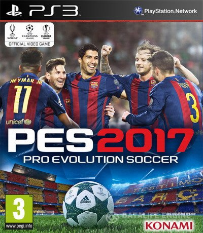 Pro Evolution Soccer 2017 (2016) [PS3] [USA] 4.21 [Repack]
