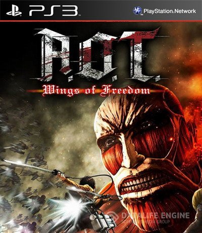 Attack on Titan: Wings of Freedom (2016) [PS3] [EUR] 4.21 [Repack] [Multi]