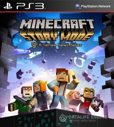 [PS3] Minecraft Story Mode: A Telltale Games Series. Episodes 1-8  [EUR] 4.21 [Repack]