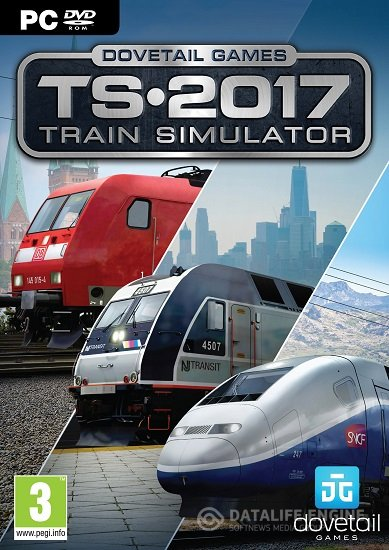 Train Simulator 2017 Pioneers Edition (58.4a)Repack от R.G.BestGamer