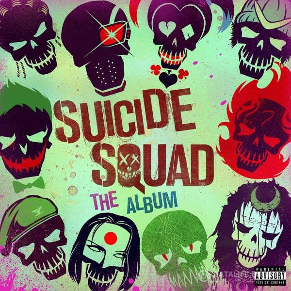OST - Отряд самоубийц / Suicide Squad: The Album (2016) MP3