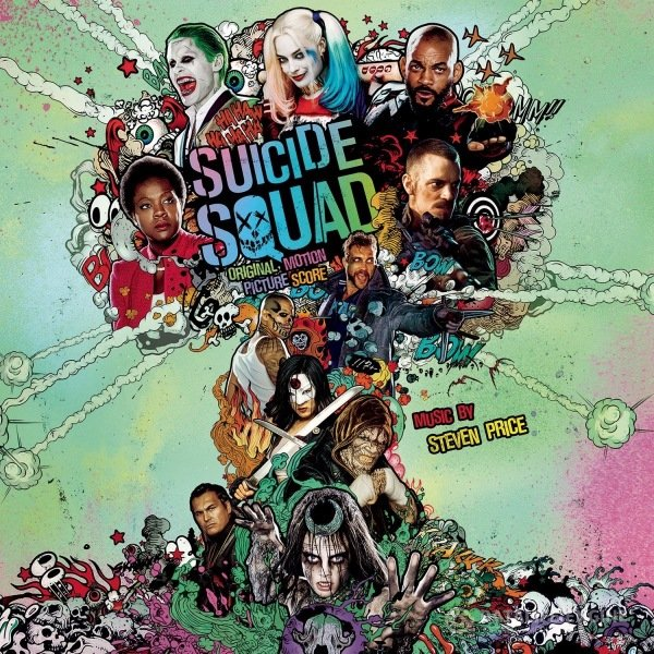 OST - Отряд самоубийц / Suicide Squad: Music by Steven Price [Original Motion Picture Score] (2016) MP3