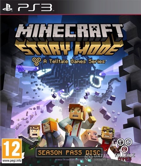 (PS3)Minecraft Story Mode: A Telltale Games Series - Episodes 1-8(3.55 OFW / Образ для Cobra ODE / E3 ODE PRO)