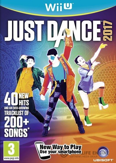 Just Dance 2017 (2016) [WiiU] [EUR] 5.3.2